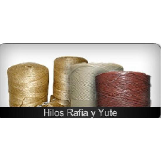 HILOS RAFIA Y YUTE
