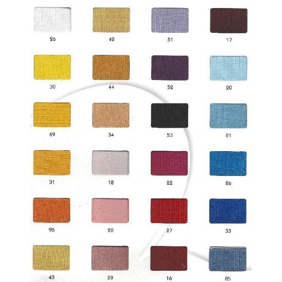 Elásticos carta de colores