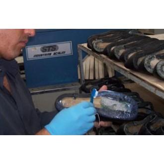 Maquinas de pegado y cosido de suelas nuevas | Tecom Maquinaria