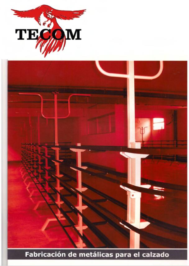 Catálogo Carpintería metálica para calzado