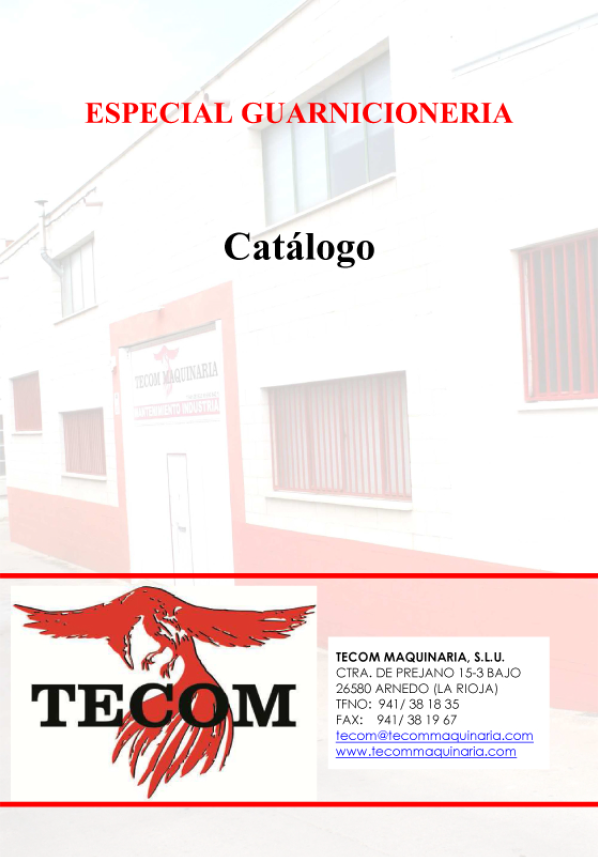 Catalogo Guarnicioneria